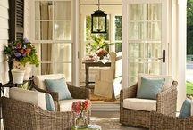 The perfect patio/stoep*