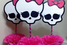 cumple monster high