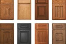 """Advantage Cabinet Line / Our most popular line. The beauty and quality of custom, for a little less.  Advantage is our """"semi-custom"""" line of cabinetry. Many of the same choices offered in our full custom line are pre-configured to the latest styles in kitchen design. 14 popular door styles can be built and finished in over 52 wood-finish combos—giving you more than 728 possible choices."""