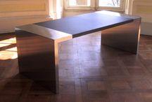 Leder Tisch