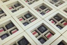 Praline Boxes / Chocofacture által készített praliné dobozok