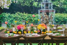 Sherbet Garden - Belle and Blanche Co. / Belle & Blanche Co. is a full-service custom event management and design company, catered to making your dream event a reality.