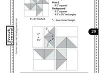 Moda blocks / Quilt blocks