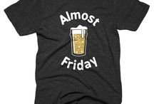 Beer Tees / Can't wait to chug a cold one on Friday? Love DC beer culture? These new tees are for you!