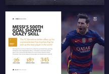 web) sports graphic