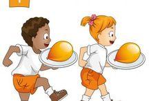 Koningsspelen / Ideeën voor op school