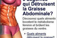 5 Légumes qui détruisent la graisse Abdominale