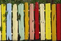 Holzzäune