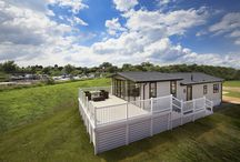 The High View / Whether you're gazing out over fields, lakes, forests or beaches, The High View really raises the bar when it comes to split-level living. Unlike some holiday homes which pay lip service to the concept with a small raised platform to the living area, The High View takes this to another level altogether - the living and dining rooms are truly elevated, making the very most of the views whatever they may be.