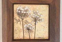 Art Tile / Handmade Art Tile