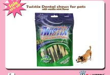Buy Twistix Dental Chews for Pets with Vanilla Mint Flavor / Flat 35% off On Twistix Dental Chews for Pets with Vanilla Mint Flavor Large for Pet #4petneeds. Order now http://4petneeds.com/url/3ymo