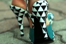 pattern shoes! / pattern and painted shoes