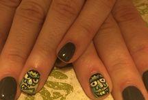 Nail art at sydneyalbert salonspa / Check out the creative nail art by our talented nail technicians!