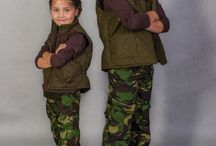 WADERA- kids fashion / WADERA#kids fashion# HUNTER# CAMO KIDS