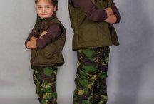 WADERA- kids fashion / WADERA#kids fashion# HUNTER# CAMO KIDS