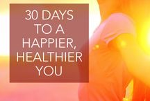 Happy, Healthy, Beautiful YOU / 4th Post, Different ways to a happier, healthier more beautiful you...