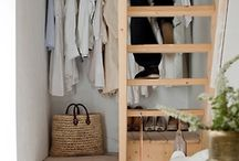 shelves and closets