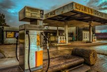 inspiracje Gas Station