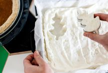 Decoratie voor gebak
