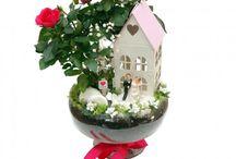hediyelik özel çiçek arajmanları / hediye çiçek