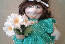 куклы из чулка