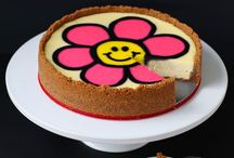 Cheesecake / Luscious and Creamy Cheesecake recipes. Decorated cheesecakes.