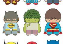 super hero birthday / by Bren Deaver Hall