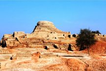 Whisperings Of An Ancient World / Mohenjodaro Nestled amidst the fertile land of Sind, these ruins make a spectacular first impact on its visitors. This breathtaking view may compel you to think about the sheer intellect of the people who built this city and lived here some 5000 years ago.