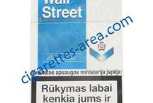 WALL STREET cigarettes / WALL STREET brand cigarettes