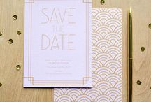 Art Deco Themed Wedding