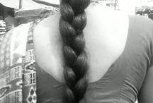 long hair Indian