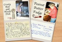 Recipe Memory Book / Creating a memory book about family recipes