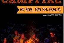 Around The Campfire / Fun ways to start the campfire, do around the campfire or just enjoy the campfire