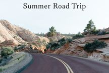 ~Summer Road Trip~ / by Lou Archell | littlegreenshed