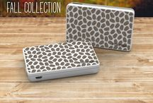 NEW Fall Collection 2015 / Choose from one of our new fall collection images to make your PowerStick charger unique.