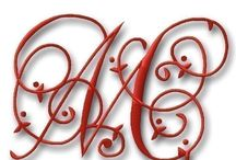 Embroidery Fonts / by Nelda Holliday