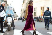 Velvet Dress - Vestido Terciopelo / Ideas para combinar un vestido de terciopelo. #velvetdress #outfits #looks #ideas #moda #fashion #style. Más en: www.infrontrowstyle.com