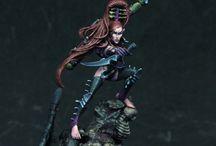 Warhammer - Dark Eldar Inspiration