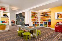 Basement Playroom