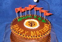 Giants Themed Cakes