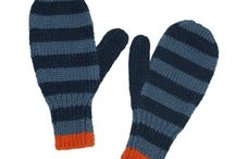 Hand Knit Mittens by Twitten / The old favorite; mittens!  Easily keep your hands warm with our hand-knit Mittens!