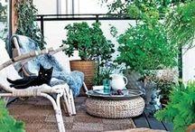 Small garden ideas / Balcony