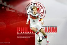 Philipp Lahm / Philipp Lahm is a German retired professional footballer who played as a right back or defensive midfielder and spent much of his early career playing left back. Wikipedia Born: 11 November 1983 (age 33), Munich, Germany Career start: 1989 Career end: 2017 Height: 1.7 m Number: 21 (FC Bayern Munich / Defender) Spouse: Claudia Lahm (m. 2010)