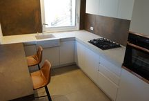 Kitchen l Top corian by DuPont