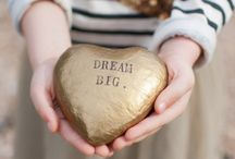 Dreaming / This is a pin board created to pin big dreams