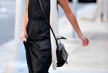 Slip Dresses / De la cama a la calle divina: el estilo lencero -> http://chezagnes.blogspot.com/2016/06/Slip-dress-trend.html #slipdress #fashion #trend #streetstyle