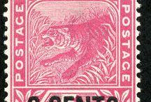 Malaya - Sungei Ujong Stamps