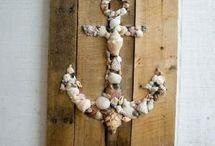 Ιδέες με πέτρες κοχύλια ξύλα