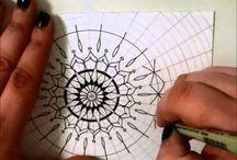 Mandala Videos / Mandala how-to videos, inspiration videos, drawing videos, demonstrations - anything mandala!