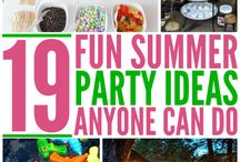 Party Hacks and Genius Ideas / In need of party inspiration?  Follow our board for all sorts of holiday and birthday party tips, tricks and ideas!